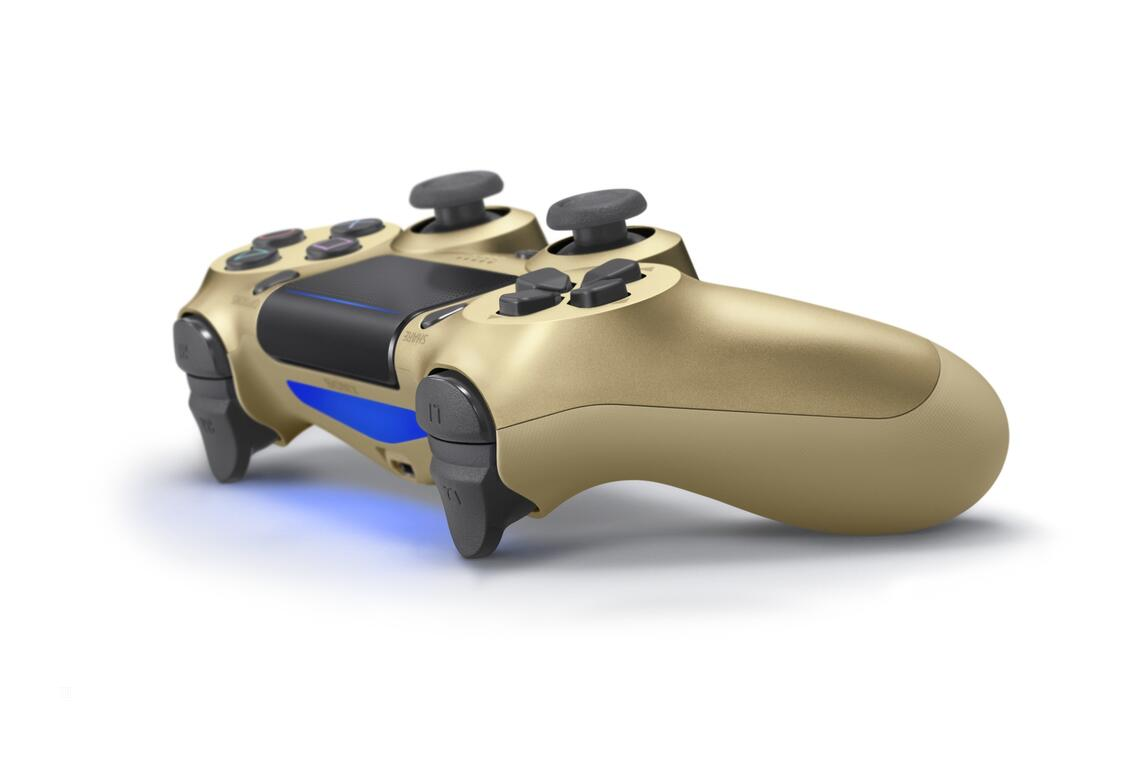 PS4 Dualshock 4 Controller (neues Modell) gold