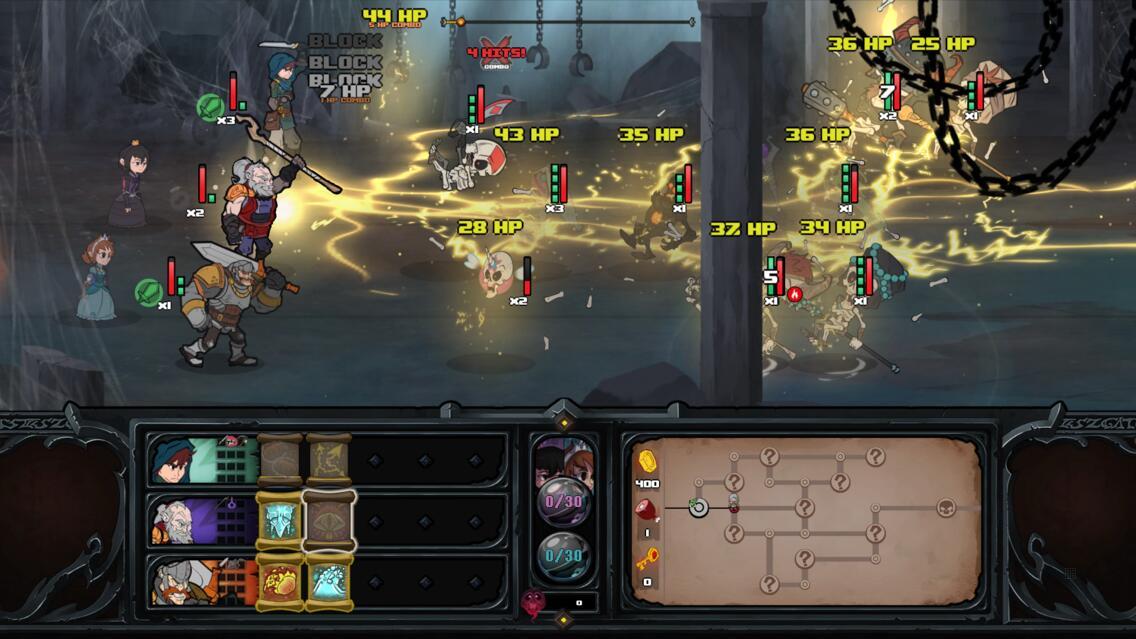Has-Been Heroes Screenshot