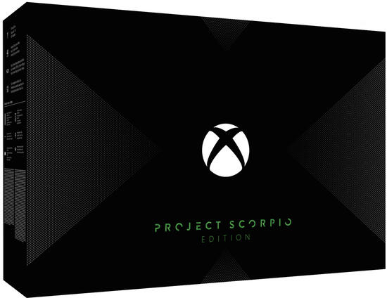 Xbox One X Konsole - Project Scorpio Edition