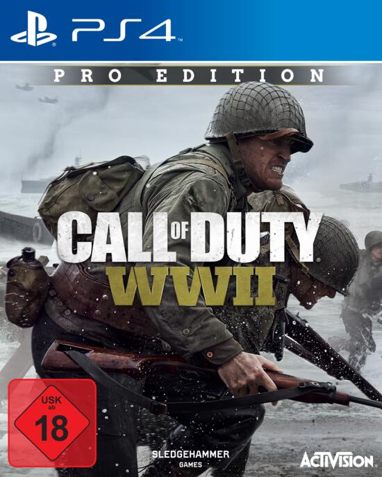 Call of Duty: WWII Pro Edition (Exklusiv bei GameStop ...  Call of Duty: W...