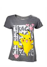 Pokemon - T-Shirt Pikachu Love (female) (Größe M)
