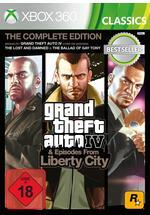 Grand Theft Auto 4 Complete Edition Classics