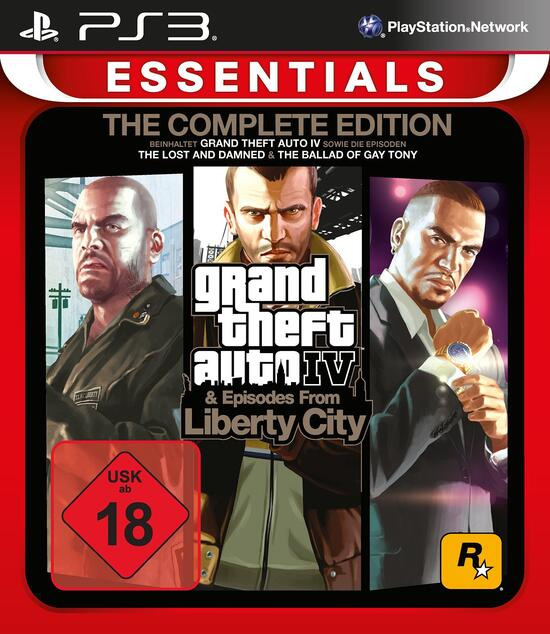 Grand Theft Auto 4 Complete Edition Essentials