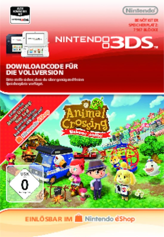 Animal Crossing: New Leaf Welcome amiibo [Code-DE]