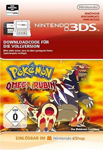 Pokémon Omega Rubin [Code-DE]