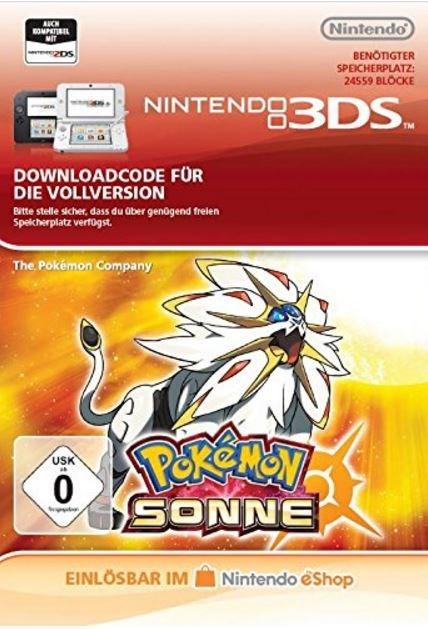 Pokémon Sonne [Code-DE]