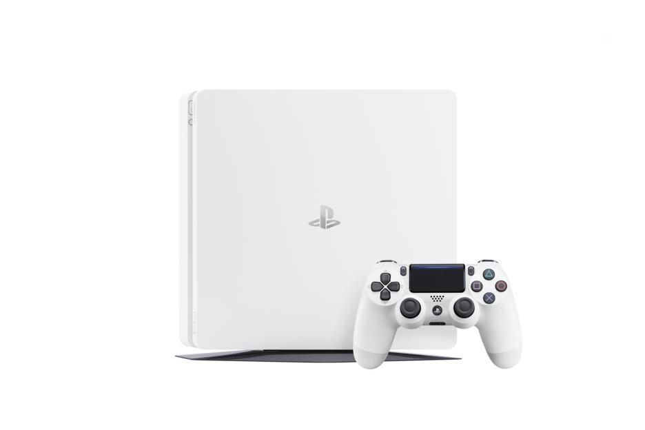 PlayStation 4 Konsole Slim 500 GB weiss