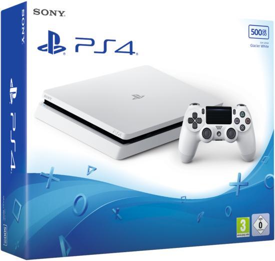 Playstation 4 Konsole Slim 500 Gb Weiss Gamestopde