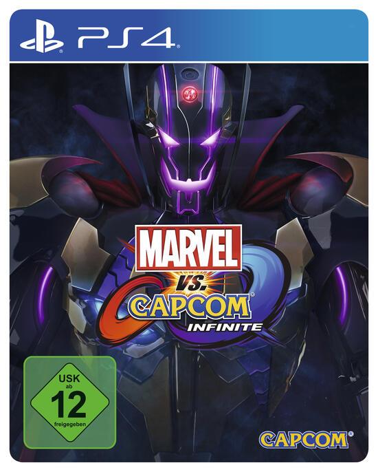 marvel vs. capcom: infinite steelbook-edition (only online