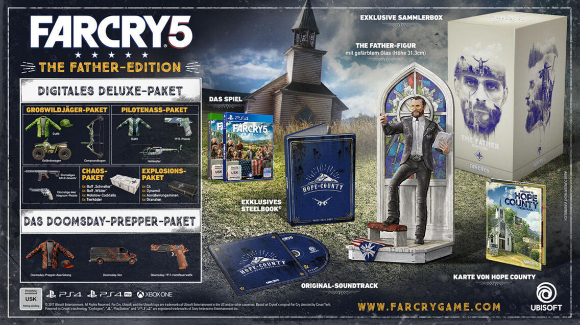 Far Cry 5 Father's Edition