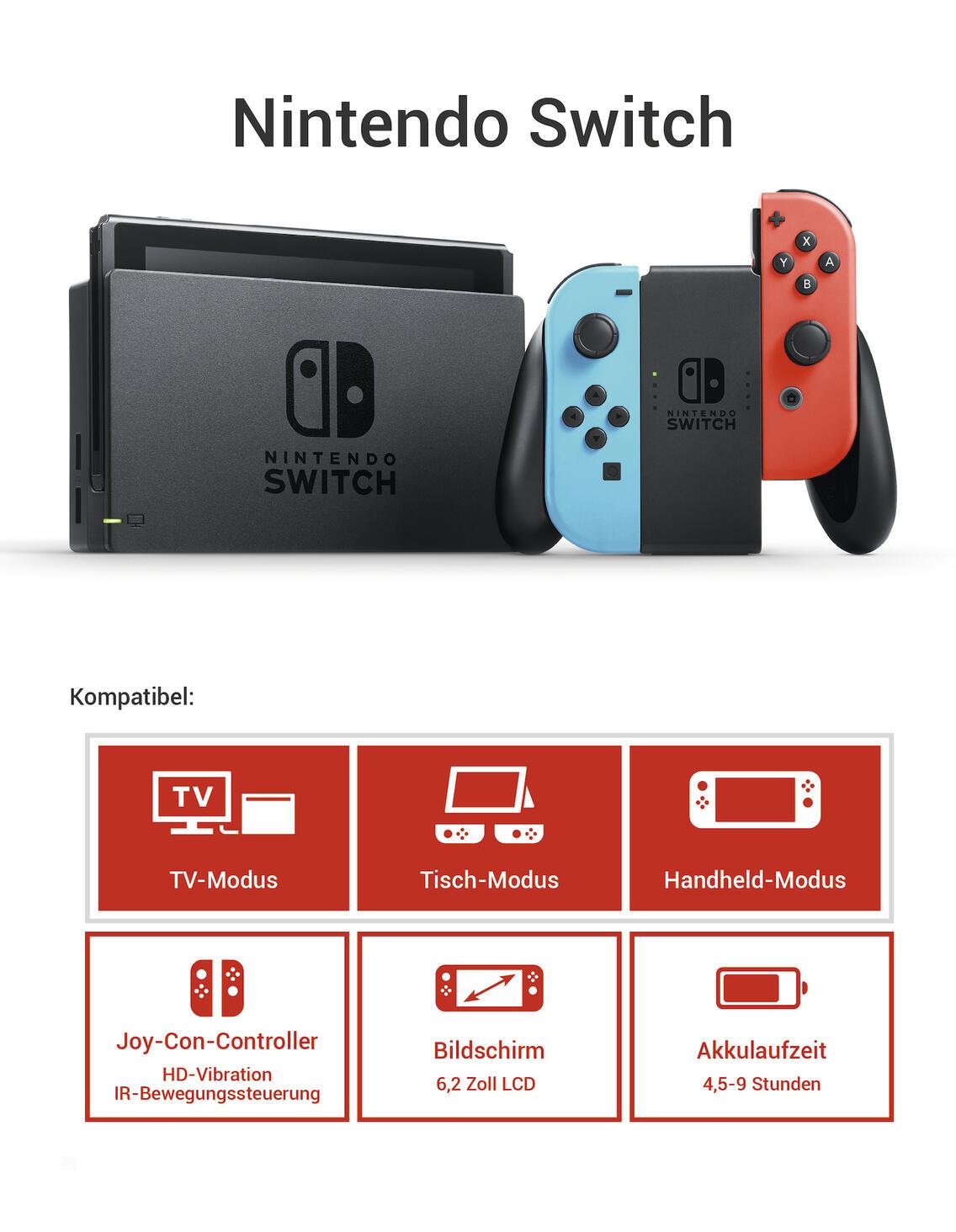 Nintendo Switch Konsole Inkl Fortnite Und Doppel Helix Paket