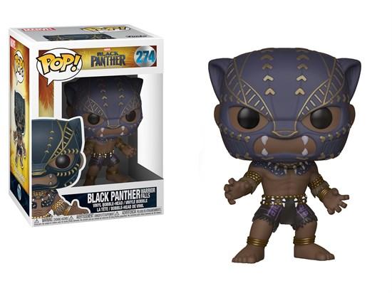 Marvel Black Panther - POP! Vinyl-Figur Black Panther Warrior Falls