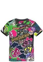 Splatoon 2 - T-Shirt Allover Print (Größe L)