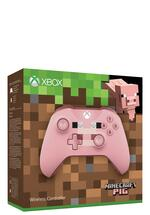 Xbox One Wireless Controller Minecraft pink