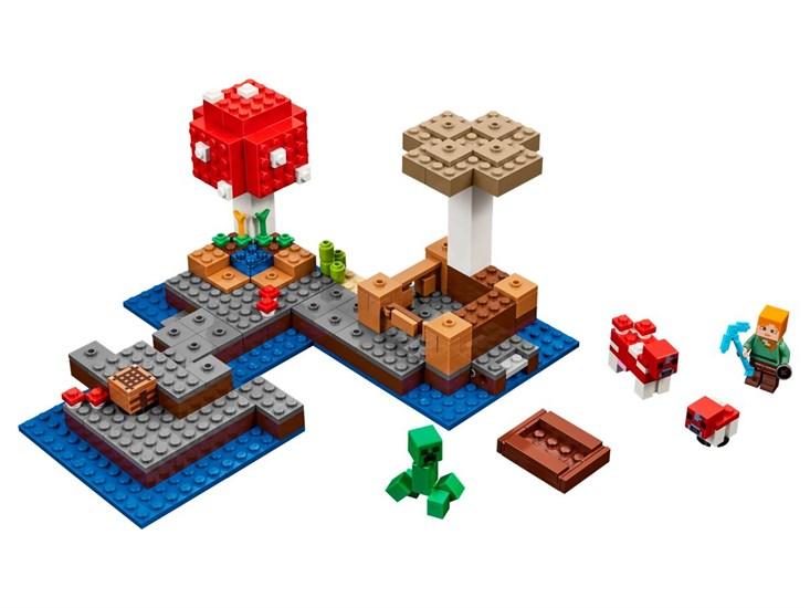 LEGO® Minecraft Die Pilzinsel - 21129