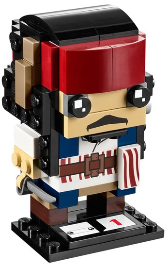 LEGO® BrickHeadz Captain Jack Sparrow - 41593