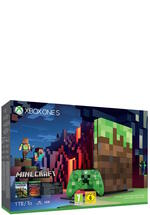 Xbox One S Konsole 1TB Minecraft (Limited Edition)