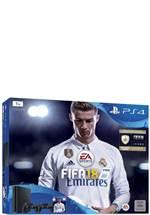 PlayStation 4 Konsole Slim 1 TB inkl. Fifa 18 und 2ter DualShock 4 Controller
