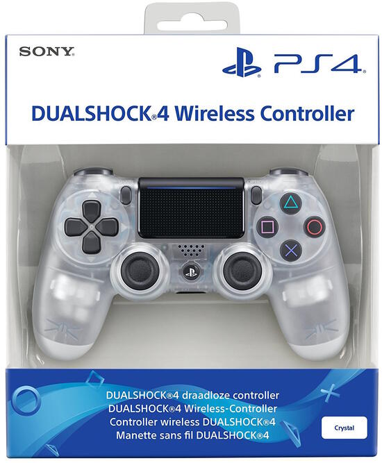 PS4 Dualshock 4 Controller crystal