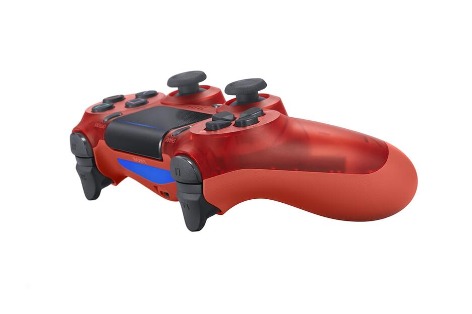 PS4 Dualshock 4 Controller red crystal