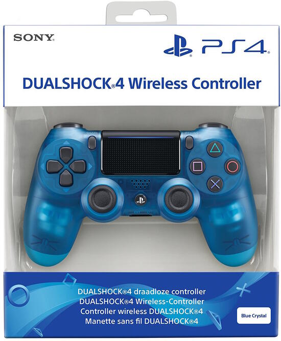 PS4 Dualshock 4 Controller blue crystal