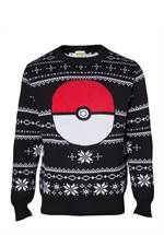Pokémon - Sweater Pokeball XMAS (Größe L)