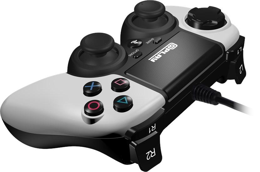 @Play PS4 Controller (kabelgebunden) weiss