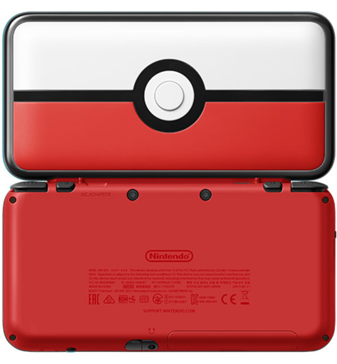 New Nintendo 2DS XL Konsole (Pokeball Edition)