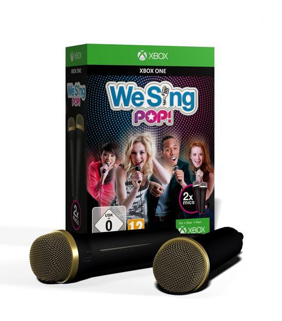 We Sing Pop Inkl 2 Mikrophone Gamestopde