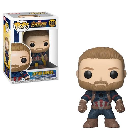 Marvel Avengers Infinity War Pop Vinyl Figur Captain America Gamestop De
