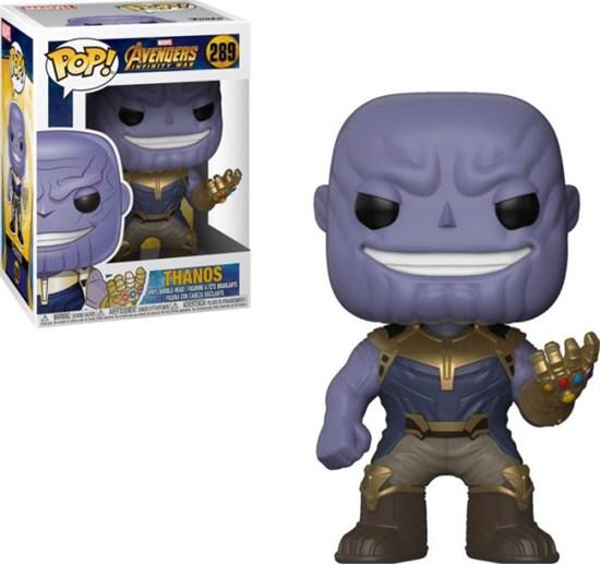 Marvel Avengers Infinity War Pop Vinyl Figur Thanos Gamestop De
