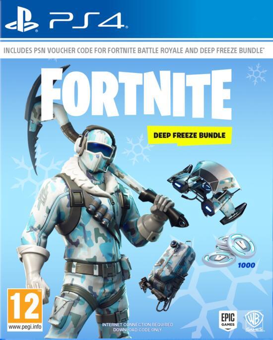 Fortnite Deep Freeze Bundle Code In A Box Gamestop De