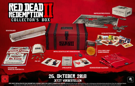 Red Dead Redemption 2 : Collector's Box (ohne Spiel)