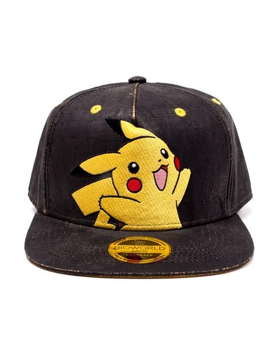 Pokémon - Snapback schwarz Pikachu Kork