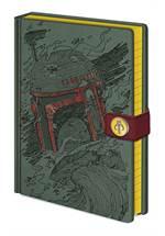 Star Wars - Notizbuch A5 Boba Fett