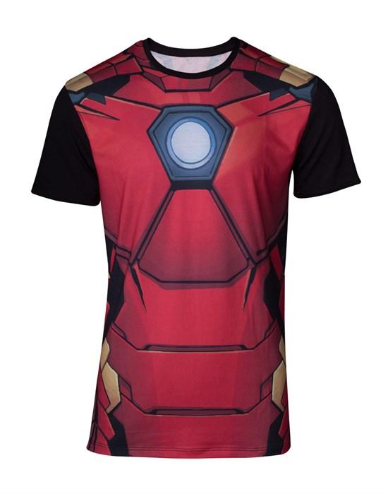 Marvel Iron Man - T-Shirt Suit (Größe S)