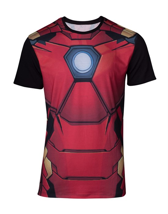 Marvel Iron Man - T-Shirt Suit (Größe M)