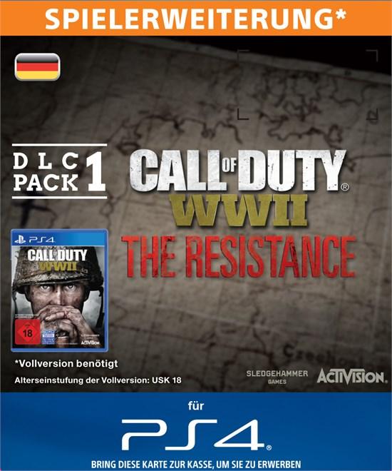 Call of Duty: WWII The Resistance (Spielerweiterung)  [Code - DE]