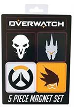 Overwatch - Magnetset (5 Stück)