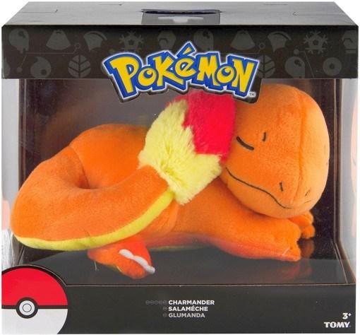 Pokémon - Plüschfigur Glumanda schlafend