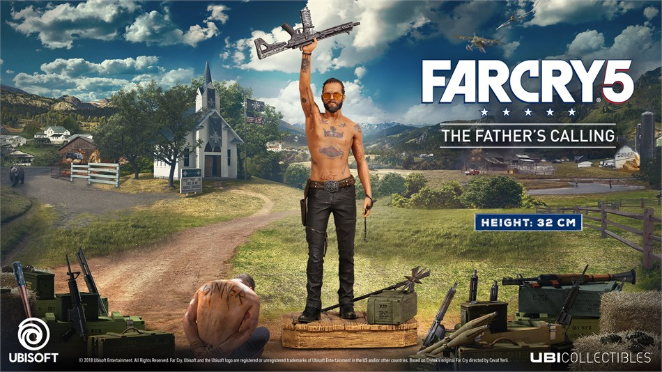 Far Cry 5 - Figur Father´s Calling
