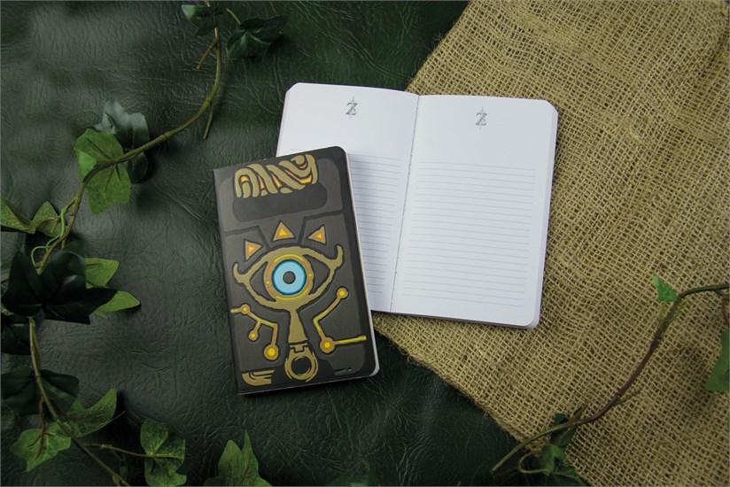 The Legend Of Zelda Notizbuch Shiekah Tafel Gamestop De