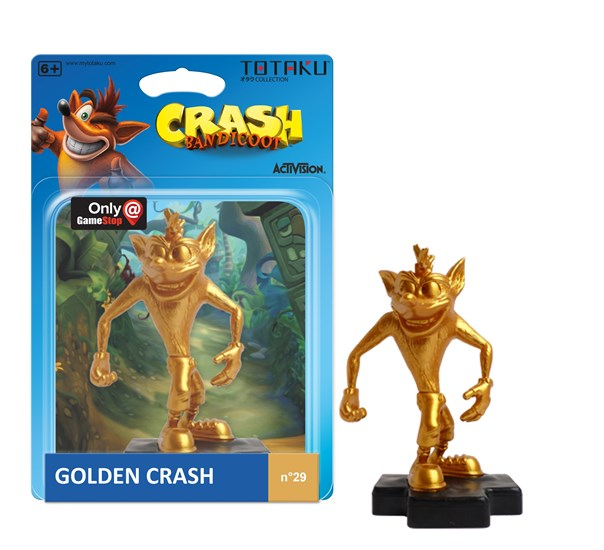 Golden Crash - Figur TOTAKU™ Collection