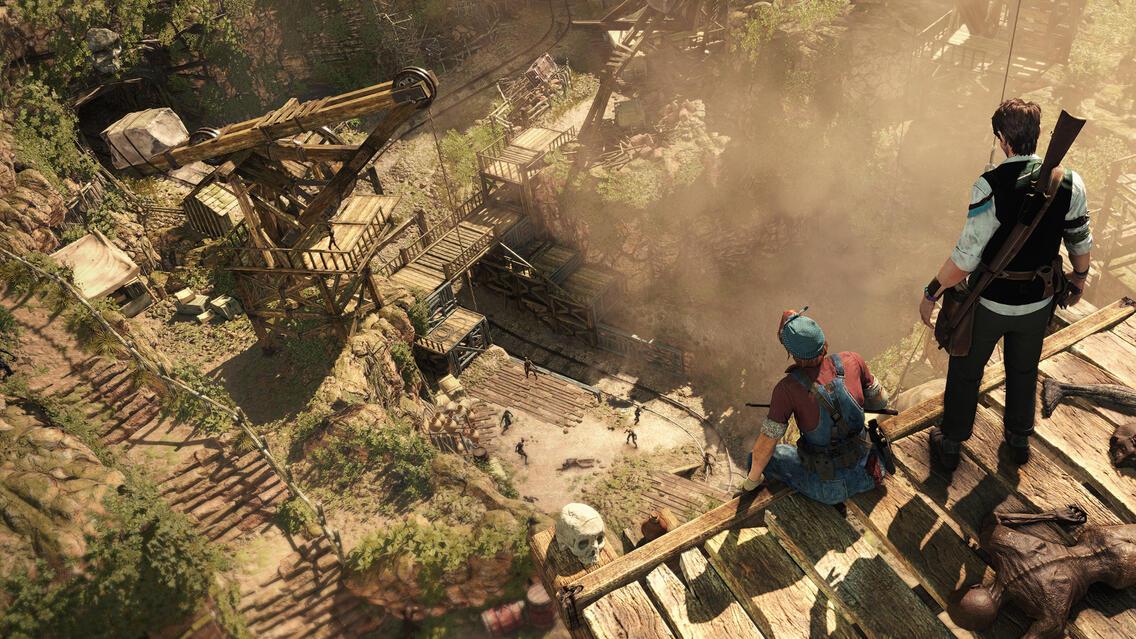Strange Brigade Screenshot