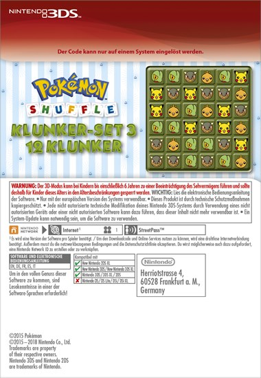 pokemon shuffle codes for jewels