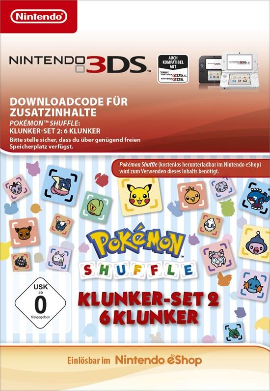 Pokémon Shuffle: 6 Jewel [Code-DE]