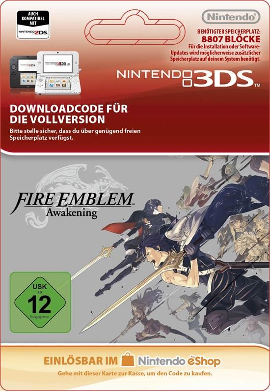 Fire Emblem: Awakening-DLC-Paket [Code-DE]