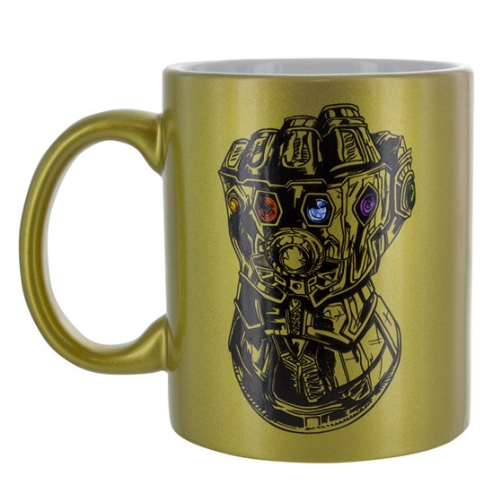 Marvel Infinity War - Tasse gold