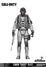 Call of Duty - Figur Simon 'Ghost' Riley Variant Exclusive