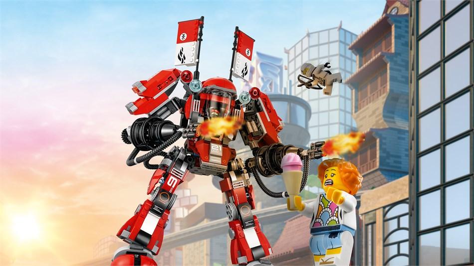 LEGO® Ninjago - Kai's Feuer-Mech - 70615